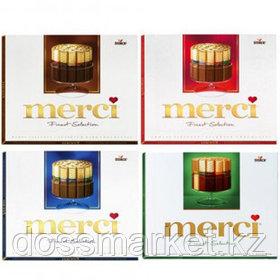 Шоколадные конфеты Merci, ассорти, 250 гр
