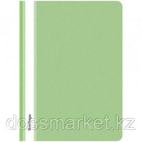 Папка-скоросшиватель Berlingo, А4 формат, 180 мкм, салатовая