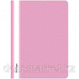 Папка-скоросшиватель Berlingo, А4 формат, 180 мкм, розовая