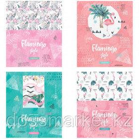 """Тетрадь ArtSpace """"Стиль. Flamingo"""" А5, 48 листов, в клетку, на скрепке"""