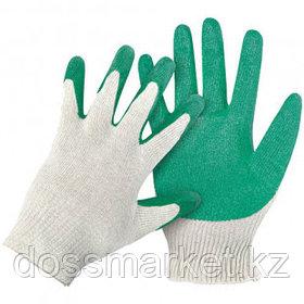 Перчатки хлопчатобумажные OfficeClean, х/б с 1-ным латекс покрытием, 13 класс, ассорти