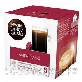 Кофе в капсулах Nescafe Dolce Gusto, Американо, 16 капсул