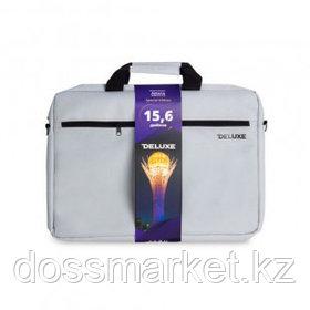 """Сумка для ноутбука Deluxe Astana, для 15,6"""", серая"""