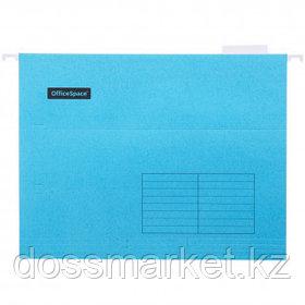 Папка подвесная OfficeSpace, А4 формат, синяя