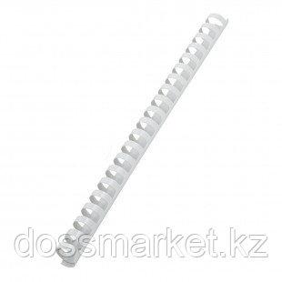 8 мм. Белые пружины для переплета, для сшивания 21-40 листов