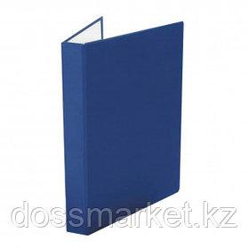Папка Office-Expert, А4 формат, на 2 кольцах, корешок 40 мм, синяя