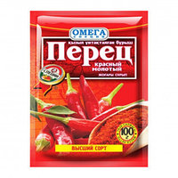 Перец молотый, красный, 100 гр