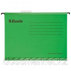 "Папка подвесная Esselte ""Pendaflex Plus Foolscap"", А4+ формат, зеленая"