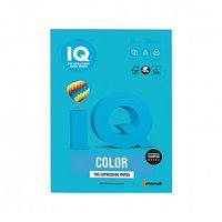Бумага IQ Color Intensive, А4, 80 г/м2, 500 листов, светло-синяя