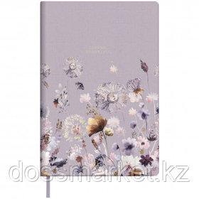 """Записная книжка Greenwich Line """"Vision. Summer blossom"""", A5, 80 листов, кожзам, золотой срез"""