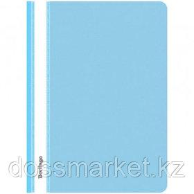 Папка-скоросшиватель Berlingo, А4 формат, 180 мкм, голубая