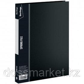 """Папка с пружинным скоросшивателем Berlingo """"Standard"""", А4 формат, корешок 17 мм, черная"""
