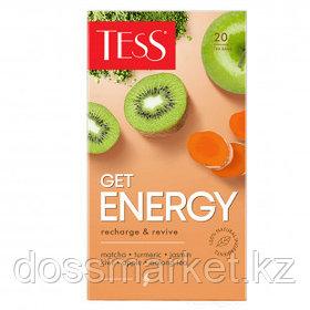 Чай Tess Get Energy, оолонг чай, 20 пакетиков