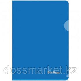 Папка-уголок Berlingo, А5 формат, 180 мкм, синяя