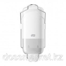 Диспенсер для жидкого мыла с локтевым приводом Tork, пластик, 1000 мл, белый