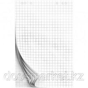 Блок бумаги для флипчарта OfficeSpace, размер 675*980 мм, 20 листов, белый, в клетку