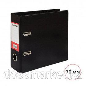 Папка-регистратор Berlingo, A5 формат, ширина корешка 70 мм, горизонтальный, черная