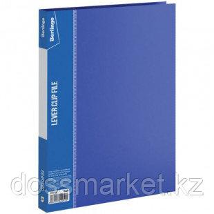 """Папка Berlingo """"Standard"""" с зажимом, А4 формат, корешок 17 мм, синяя"""