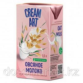 Молоко овсяное Creamart, 1 литр, тетрапакет