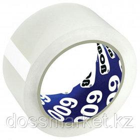 Упаковочная клейкая лента Unibob, ширина ленты 48 мм, длина намотки 66 м, толщина 45 мкм