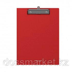 """Папка-планшет Erich Krause """"Classic"""", А4, с верхним прижимом и крышкой, красный"""