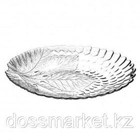 """Тарелка Pasabahce """"Sultana"""", овальное, стекло, 25*32 см"""