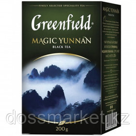Чай Greenfield Magic Yunnan, черный, 200 гр, листовой