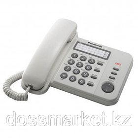 """Телефон проводной Panasonic """"KX-TS2352RUW"""", белый"""