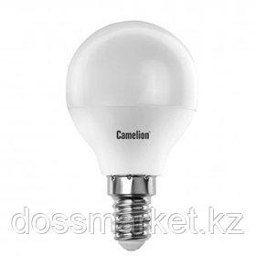 Лампа светодиодная Camelion LED7-G45/865/E14, 7 Вт, 6500К, холодный белый свет, E14, форма шар