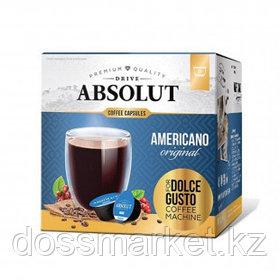 """Кофе в капсулах Живой Кофе """"Американо"""", для кофемашин Dolce Gusto, 16 капсул"""