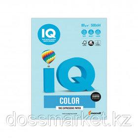 Бумага IQ Color Pale, А4, 80 г/м2, 500 листов, голубая