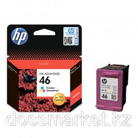 Картридж оригинальный HP CZ638AE №46 для DeskJet 2020/2029/2520/2529/4729, цветной