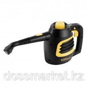Пароочиститель Kitfort KT-930, 180 мл, 900 ВТ, черный/желтый