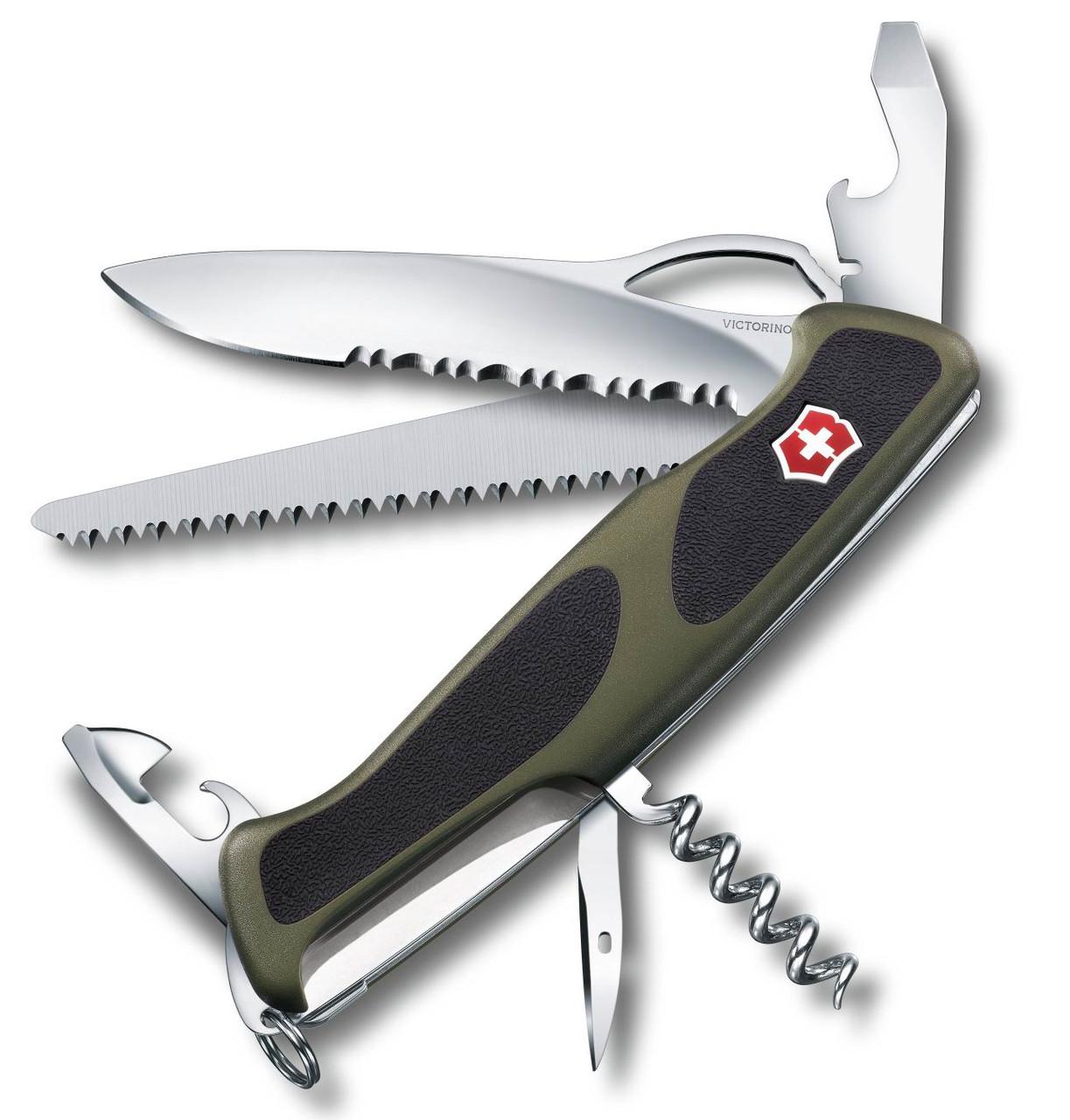 Нож VICTORINOX RangerGrip 179 130мм 12 функции R 18839