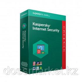 Антивирус Kaspersky Internet Security 2021, 3 пользователя, продление на 1 год, Box
