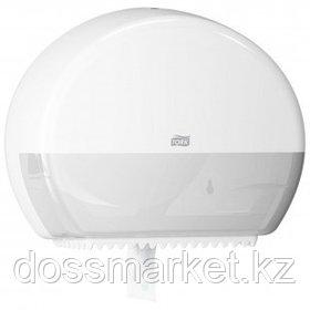 Диспенсер для рулонной туалетной бумаги Tork, 275*345*132 мм, белый