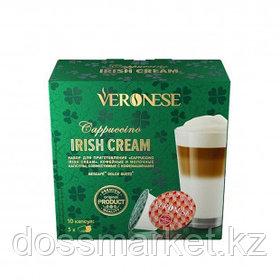 "Кофе в капсулах Veronese ""Cappuccino Irish Cream"" для кофемашин Dolce Gusto, 10 капсул"