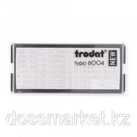 Касса букв (латиница) для самонаборного штампа Trodat, 8 строк, высота шрифта 4 мм, 264 символа