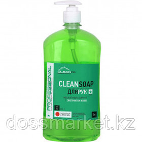 "Жидкое мыло Cleanco CLEANSOAP ""Алоэ"", с дозатором, 1 кг"