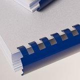 12 мм. Синие пружины для переплета, для сшивания 56-80 листов, фото 3
