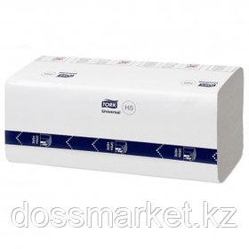 Полотенца бумажные Tork Peak Serve, 410 шт., 1-слойные, 20*22 см, V-сложение, белые