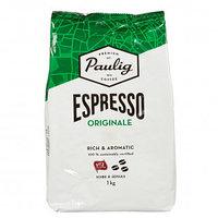 Кофе в зернах Paulig Espresso Originale, темная обжарка, 1000 гр