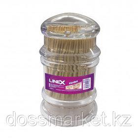 Зубочистки деревянные Linex, 300 шт. в упаковке