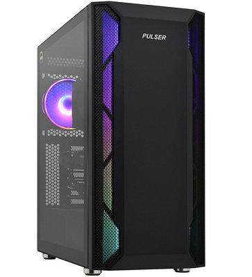 Персональный компьютер PULSER Advanced Core i7-10700F-2.9GHz/SSD 500GB черный