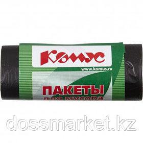 Мешки для мусора Комус на 30 л, 480*580 мм, 30 шт. в рулоне
