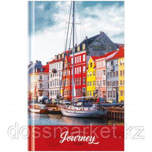 "Ежедневник недатированный OfficeSpace ""Путешествия. Unforgettable journey"", А5, 136 л"