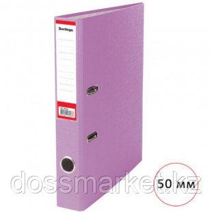 Папка-регистратор Berlingo, А4, ширина корешка 50 мм, сиреневая
