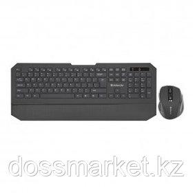 Беспроводной набор Defender Berkeley C-925, клавиатура и оптическая мышь, черный