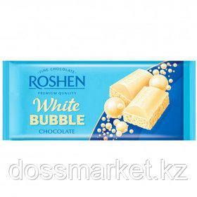 Шоколад белый Roshen, пористый, 80 гр