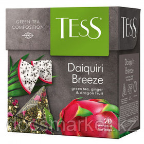 Чай Tess Daiquiri Breeze, зеленый фруктовый, 20 пирамидок